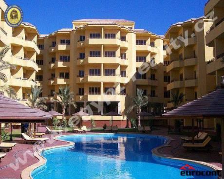 Egypt - 3+kk se 3 terasami, luxusní resort 500m od pláže - British Resort