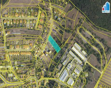 Prodej - Stavební pozemek 2156 m2 v obci Kanice