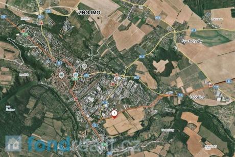 Prodej pozemků Znojmo - Louka