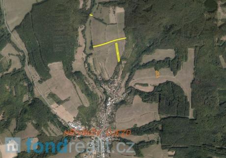 Prodej pozemků Hřivínův Újezd
