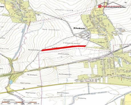 Pozemky (orná půda) vk.ú. Klokočí, okr. Přerov, celková výměra 37.790 m2