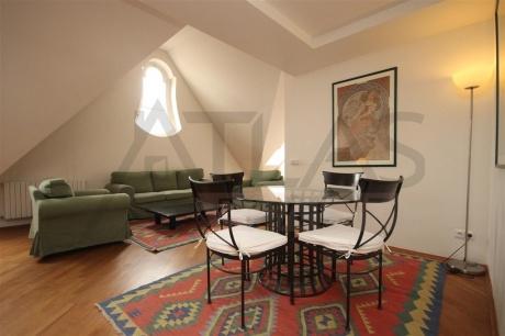 Mezonetový byt 3+1, 108m2, poblíž Karlova náměstí, Praha 2 - Nové Město, ul. Odborů