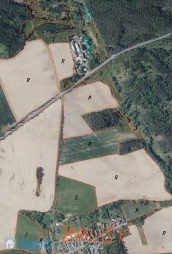 Prodej pozemků Brusy