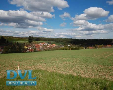 Pozemek - orná půda 6021 m2 - Příbram na Moravě. Investice.
