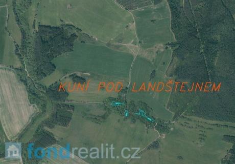 Prodej pozemků Kuní pod Landštejnem