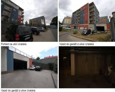 Aukce garáže, okr. Liberec
