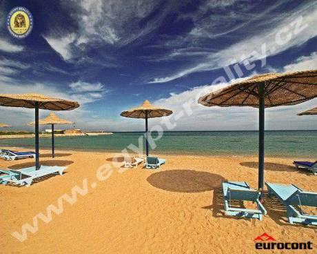 Egypt - Hurghada, apartmány v novém resortu s vlastní pláží, Cecelia Resort