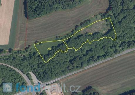 Prodej pozemků Lísková u Nemanic