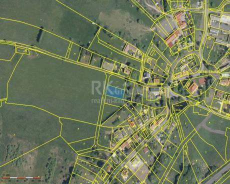 Prodej stavebního pozemku 1 028m2, obec Zádub - Závišín