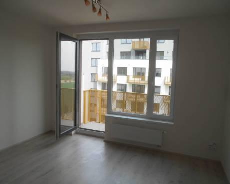 Nový byt 1+kk s balkonem, 33 m2, ul. Honzíkova, Praha 10 - Štěrboholy