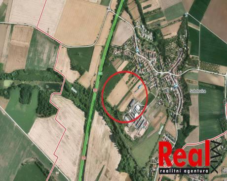 Prodej, pozemek pro komerční výstavbu, Sobotovice, 3064 m²