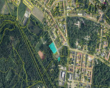 Lukrativní pozemky o výměře 4 752m2 v lázeňské části města, Františkovy Lázně