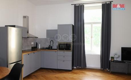 Pronájem, byt 2+kk, 63 m2, Praha 2 - Nové Město