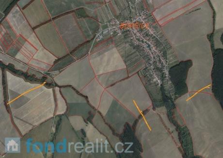 Prodej pozemků Boršice u Blatnice