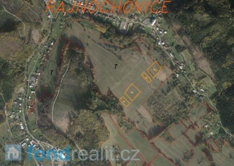 Prodej pozemků Rajnochovice