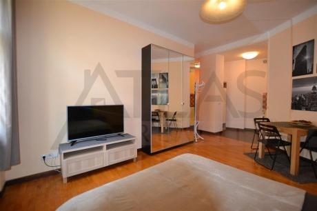 Pronájem zařízeného bytu 1+kk, 30 m2, Praha 3 - Žižkov, Cimburkova ulice