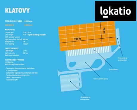 Pronájem, sklad, Klatovy, 5200 m²