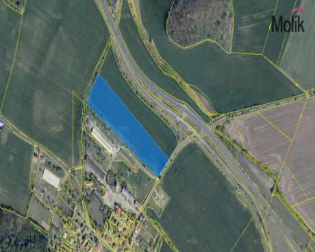 Stavební parcela obec Bělušice, kat. území Bělušice u Mostu