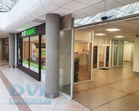 Obchodní prostory 110 m2 - Brno-střed, ul. Příkop, obchodní galerie IBC.