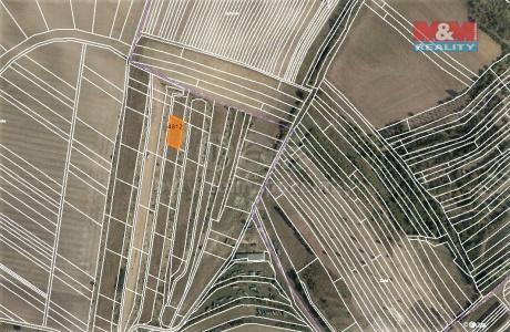 Prodej louky, 1342 m², Starovičky