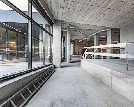 Obchodní prostor k pronájmu, 263 m2 v novostavbě Rezidence Churchill v ulici Italská, Vinohrady, Pra