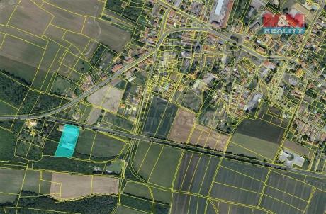 Prodej zahrady, 2216 m², Mělnické Vtelno
