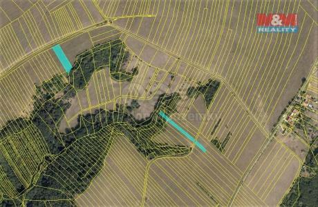 Prodej pole, 1189 m², Kelníky