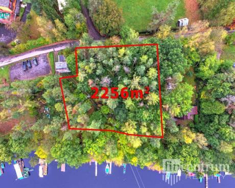 Prodej lesa 2256 m2, Slapy