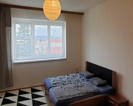 Pronájem bytu 1+1 Brno-Žabovřesky, ul. Minská, CP 38m2, částečně zařízený