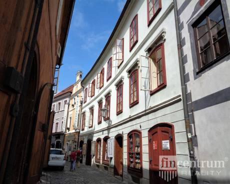 Prodej památky 1100 m2 Dlouhá, Český Krumlov