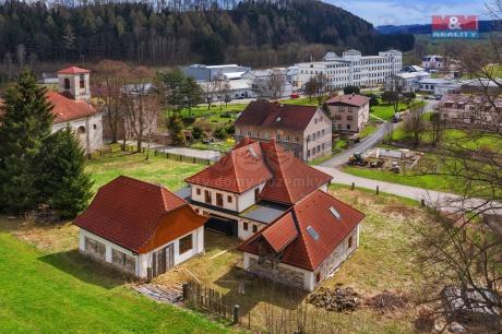 Prodej hotelu, penzionu, 2809 m², Adršpach, ul. Horní Adšpach