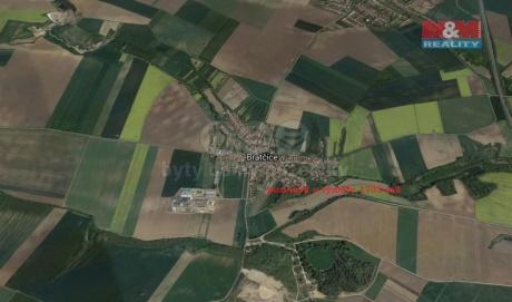 Prodej pole, 1732 m², Bratčice
