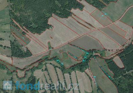 Prodej pozemků Číměř