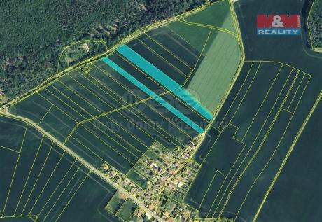 Prodej pole, 4232 m², Měník-Barchůvek