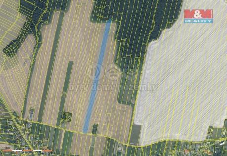 Prodej pole, 13964 m², Tísek