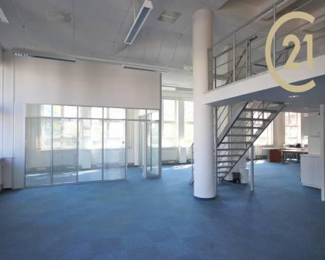Pronájem, kancelář, Praha, 985 m²