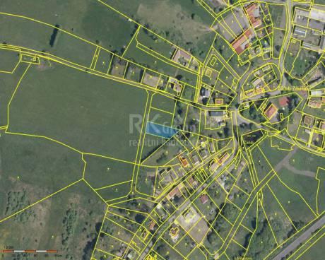 Prodej stavebního pozemku 1 000m2, obec Zádub - Závišín
