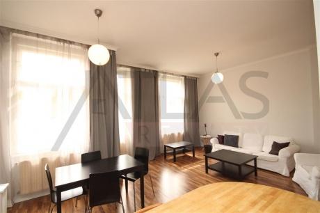 Pronájem bytu 2+kk, 78m2, Praha 2 - Vinohrady