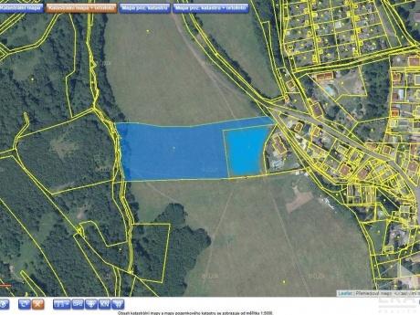 Prodej pozemku v Žandově u Chlumce
