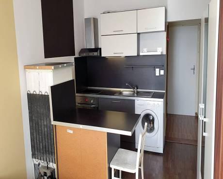 Pronájem bytu 1+kk, Brno-střed ( Trnitá ), ul. Masná, CP 20 m2, částečně zařízený