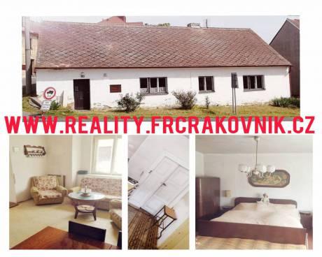 Prodej rodinného domu 196 m2 s pozemkem 50 m2 - Čistá u Rakovníka