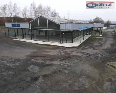 Pronájem areálu 8.049 m² s venkovní plochou + showroom, Teplice