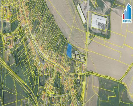 Prodej - Stavební pozemek 1611 m2 v obci Kasejovice