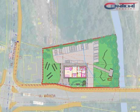 Prodej komerčního pozemku 2.970 m2, Liberec