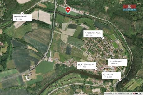 Prodej pole, 1635 m², Kácov