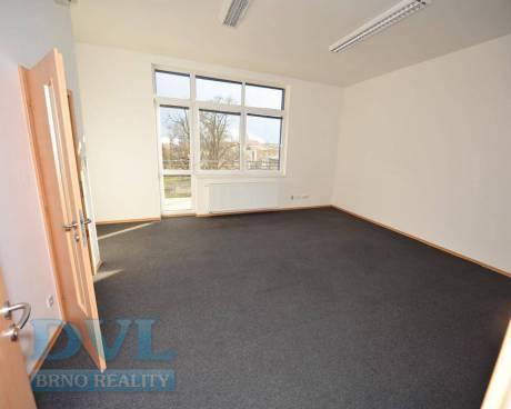 Kancelářské prostory 554 m2 - Brno-střed, ul. Čechyňská.