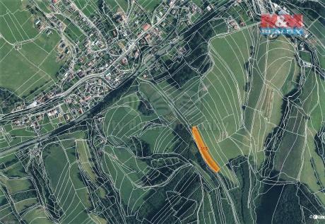 Prodej pole, 4064 m², Lhota u Vsetína
