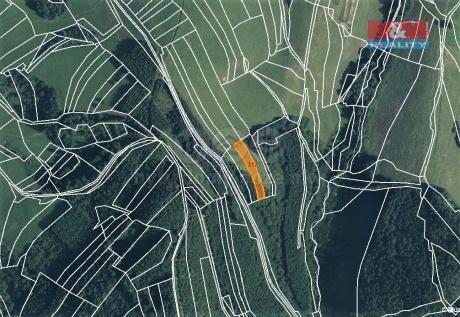 Prodej pole, 1270 m², Lhota u Vsetína