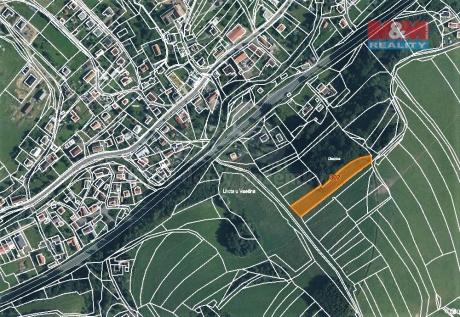 Prodej louky, 3043 m², Lhota u Vsetína