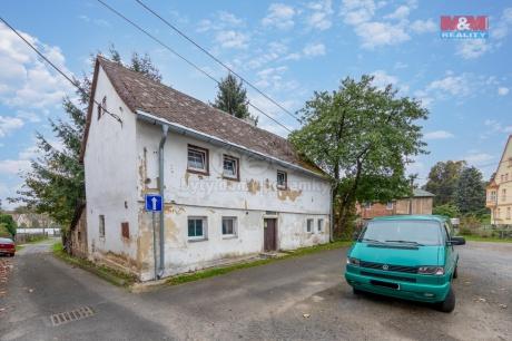Prodej chalupy, 241 m², Krajková u Sokolova